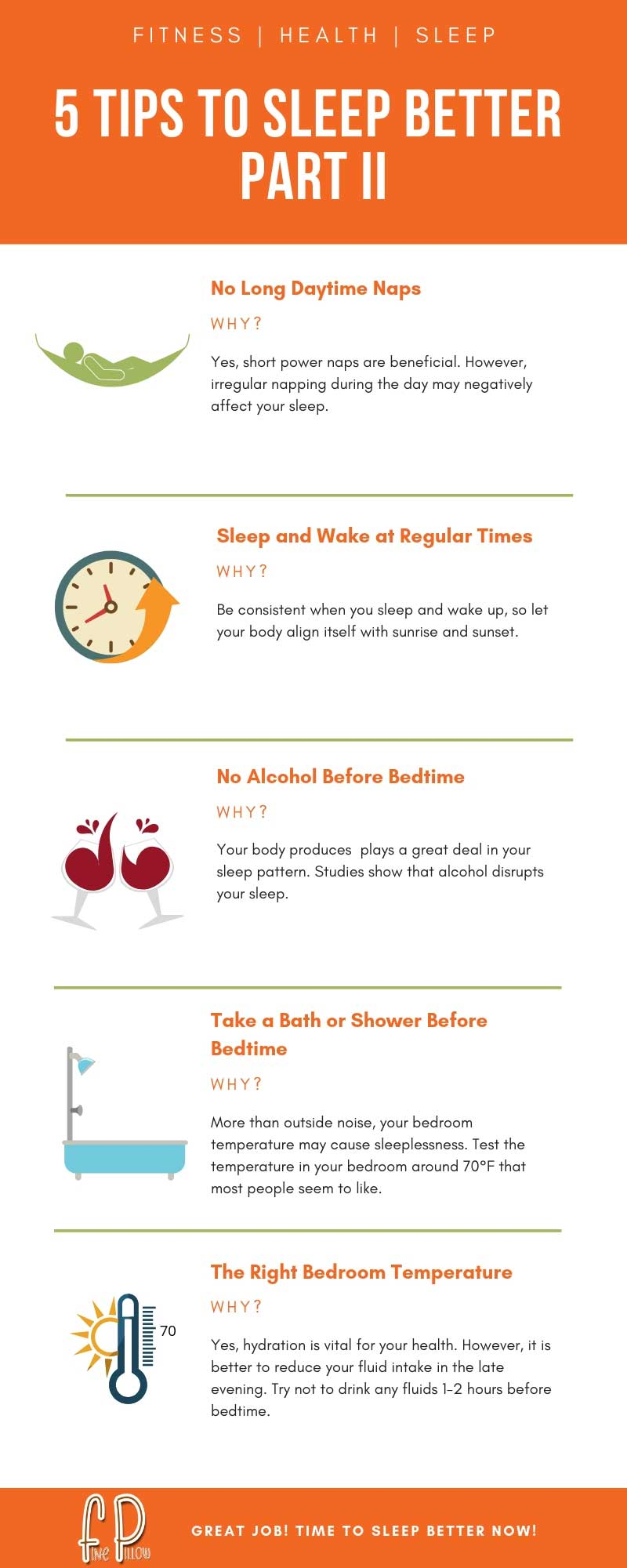 5 Tips to Sleep Better Part II